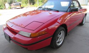1991 Mercury Capri Front Left