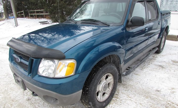 2001 Ford Explorer Sport Trac Front Left