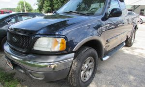 2002 Ford F-150 XLT Front Left
