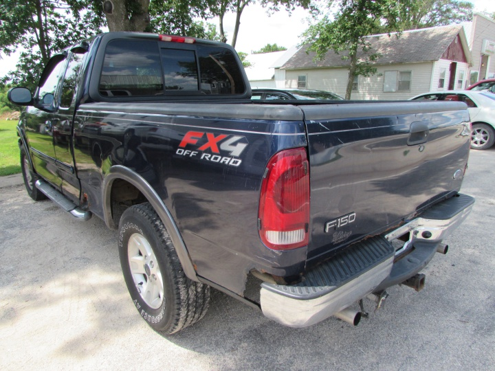 2002 Ford F150 XLT Rear Left