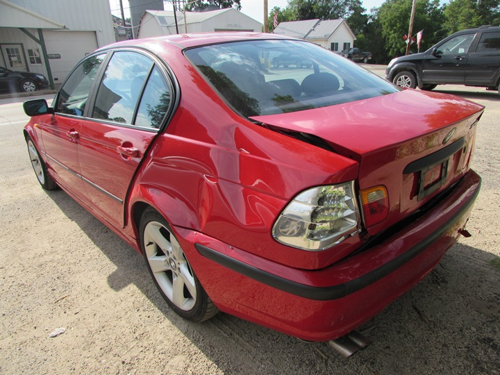 2004 BMW 325i Rear Left