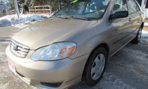 2004 Toyota Corolla CE Front Left