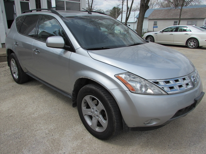 2004 Nissan Murano SL Front Right
