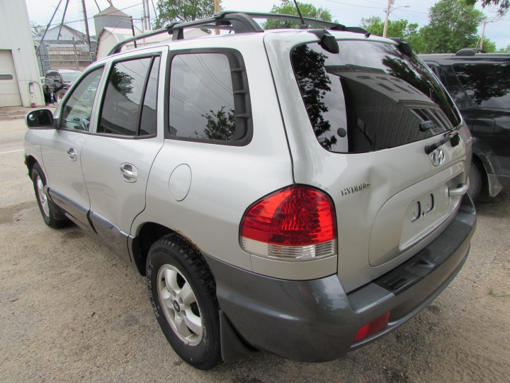 2005 Hyundai Santa Fe GLS Rear Left