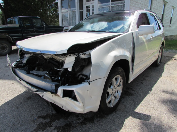 2007 Cadillac SXR Front Left