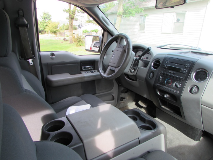 2007 Ford F150 Supercab Interior