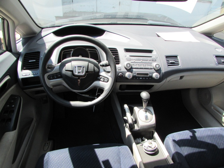 2008 Honda Civic Hybrid Interior
