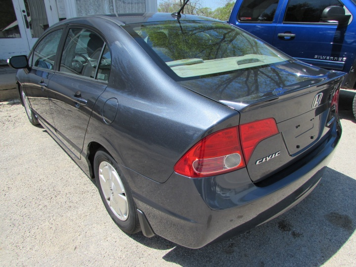 2008 Honda Civic Hybrid Rear Left
