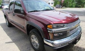 2008 Chevy Colorado LT Front Right