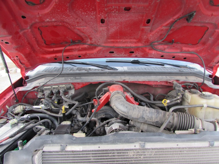 2008 Ford F350 Motor