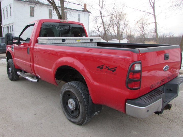 2008 Ford F350 Rear Left