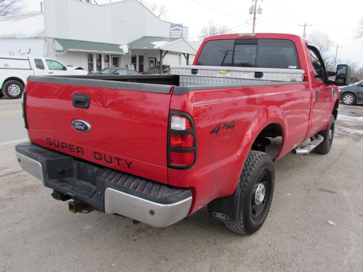 2008 Ford F350 Rear Right