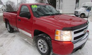 2008 Chevy Silverado C1500 LS Front Right