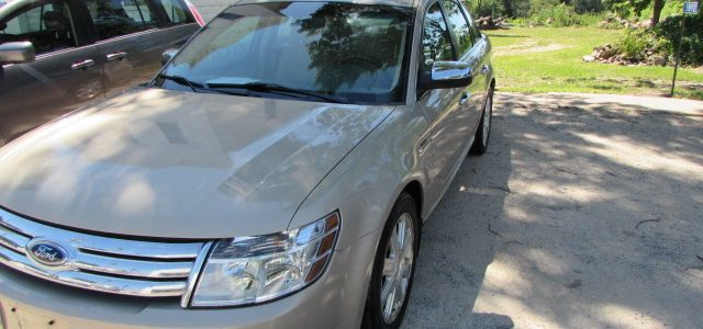 2008 Ford Taurus Limited Front Left