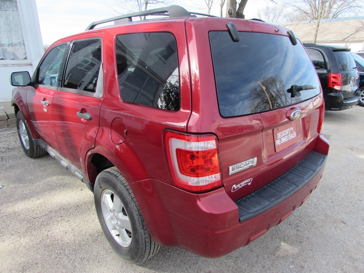 2009 Ford Escape XLT Rear Left
