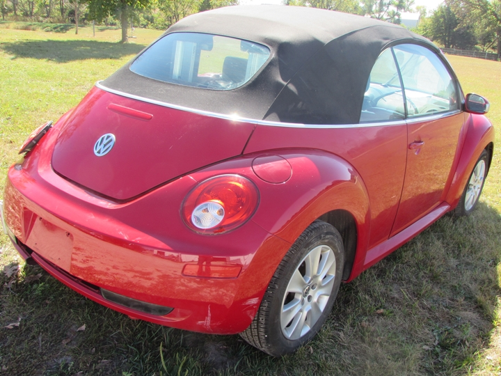 2009 VW New Beetle Rear Right