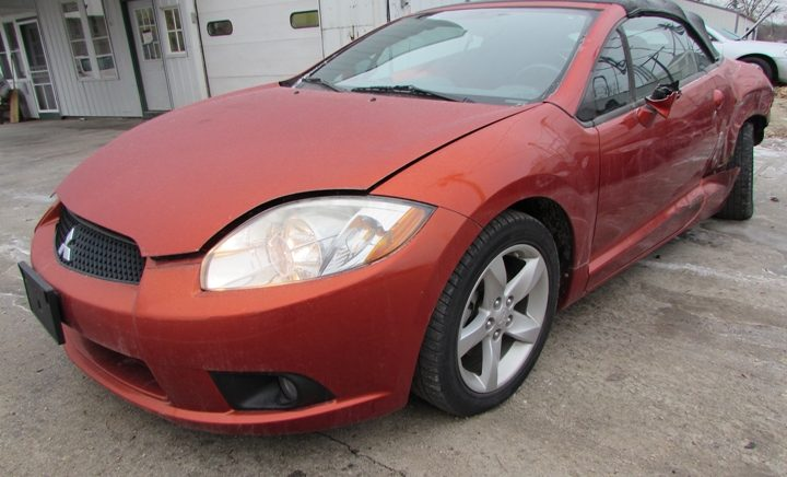 2009 Mitsubishi Eclipse Spyder GS Front Left