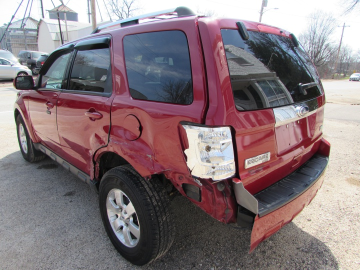 2010 Ford Escape Limited Rear Left