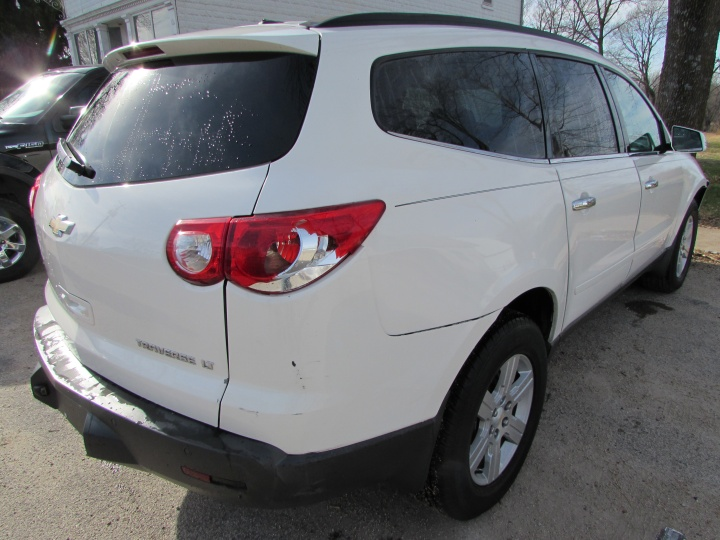 2010 Chevy Traverse LT Rear Right