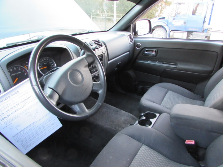 2011 GMC Canyon SLE Interior