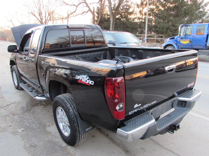 2011 GMC Canyon SLE Rear Left