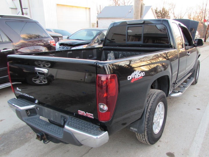 2011 GMC Canyon SLE Rear Right