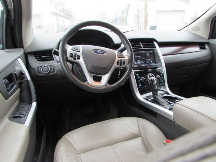 2011 Ford Edge Limited Interior