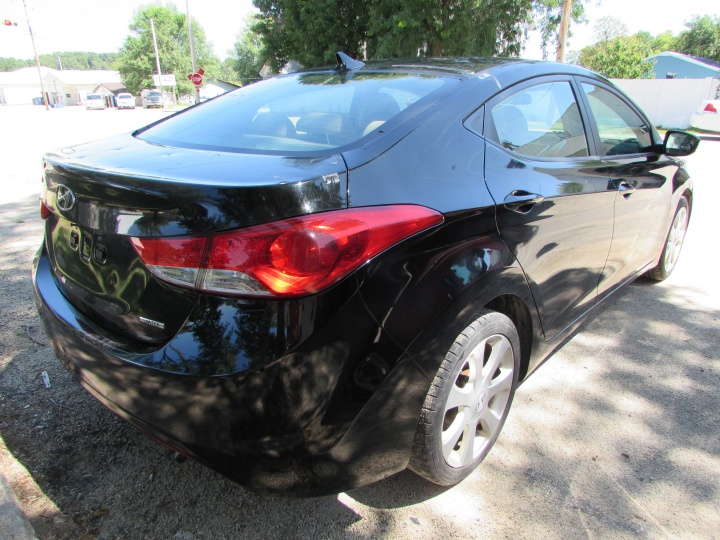 2011 Hyundai Elantra Limited Rear Right