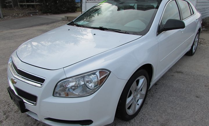 2011 Chevy Malibu LS Front Left