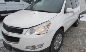 2011 Chevy Traverse LT Front Left