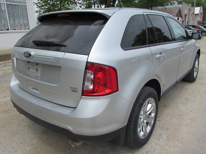 2012 Ford Edge SEL Rear Right
