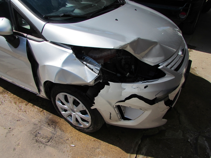 2012 Ford Fiesta S Damage