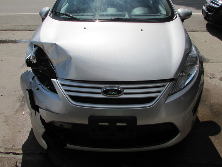 2012 Ford Fiesta S Front