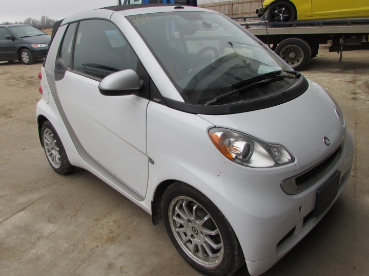 2012 Smart Fortwo Passion Front Right