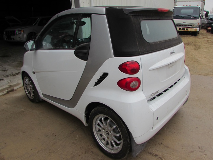 2012 Smart Fortwo Passion Rear Left