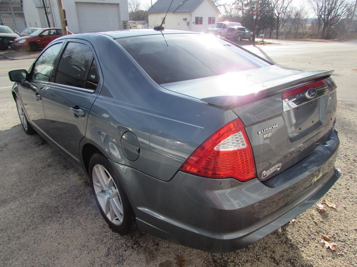 2012 Ford Fusion SEL Rear Left