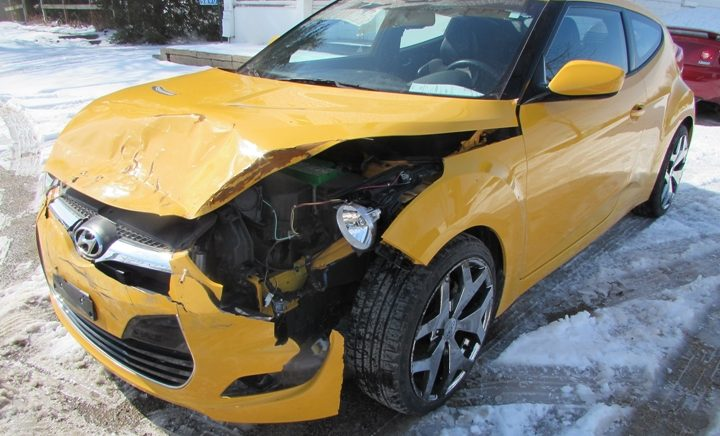 2012 Hyundai Veloster Front Left
