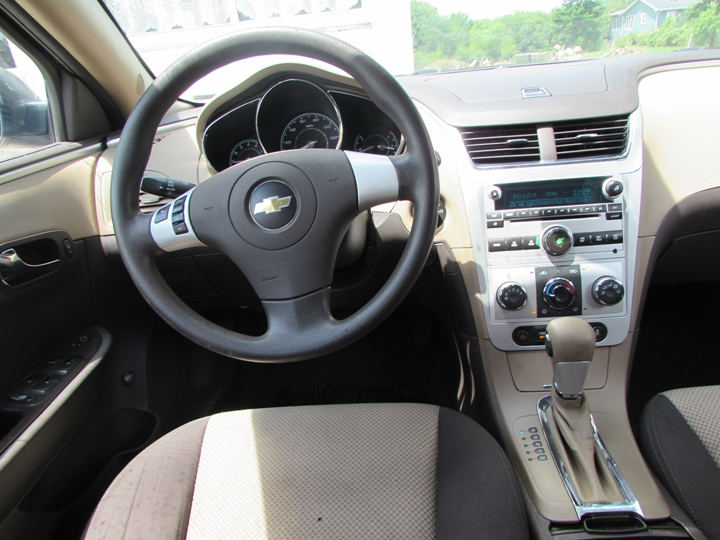 2012 Chevy Malibu LS Interior