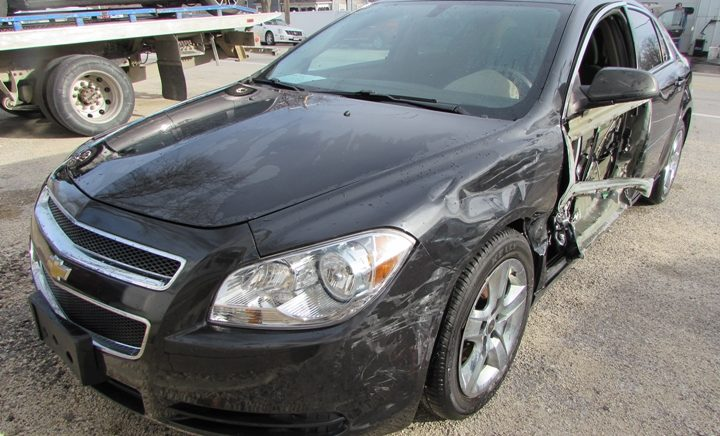 2012 Chevy Malibu LS Front Left