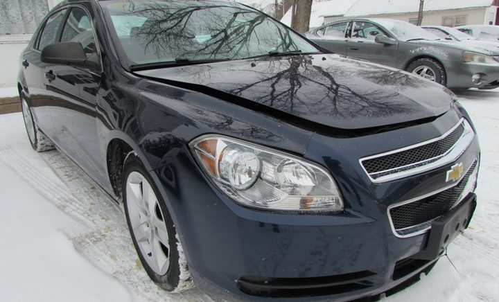 2012 Chevy Malibu LS Front Right