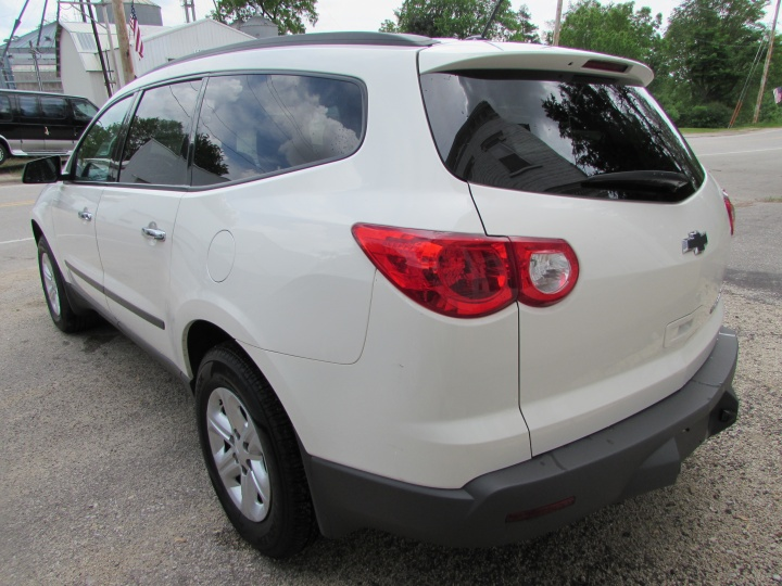 2012 Chevy Traverse LS Rear Left