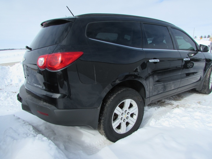 2012 Chevy Traverse LT Rear Right