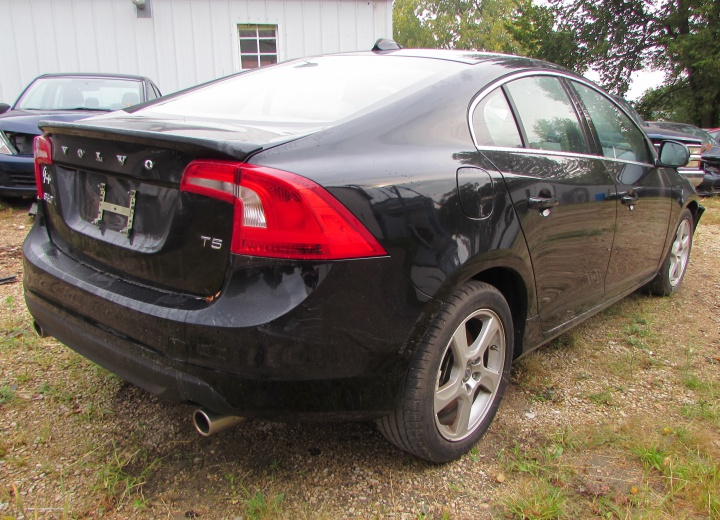 2013 Volvo S60 T5 Rear Right