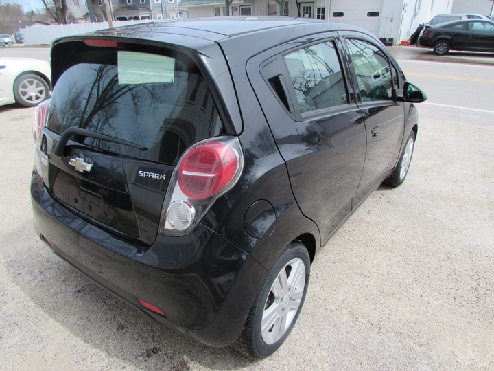 2013 Chevy Spark LS Rear Right