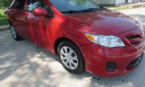 2013 Toyota Corolla Front Right