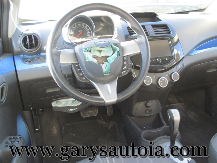 2013 Chevy Spark 1LT Interior
