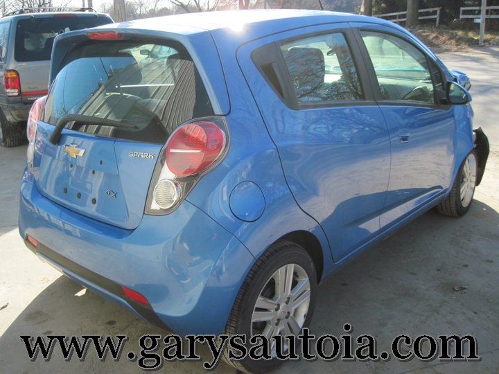 2013 Chevy Spark 1LT Rear Right