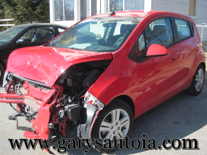 Chevy Spark Price >> 2013 Chevrolet Spark 509324 Repairable Gary's Auto Troy Mils