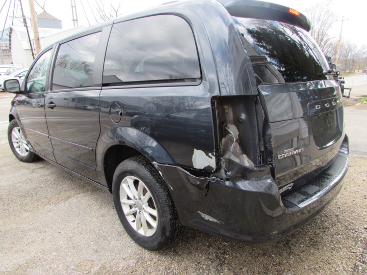 2014 Dodge Grand Caravan SXT Rear Left
