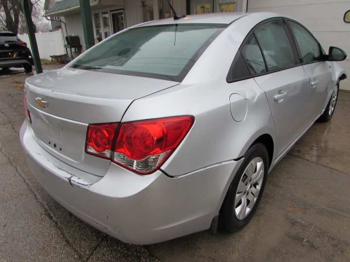 2014 Chevy Cruze LS Rear Right